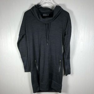 Athleta Sweatshirt Dress Gray small